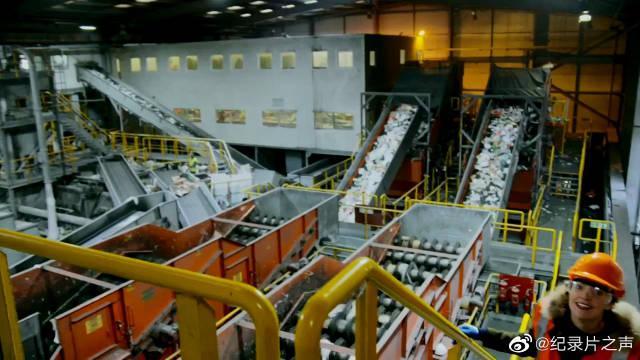 金属罐是怎样在众多可回收垃圾中被筛选出来的呢?