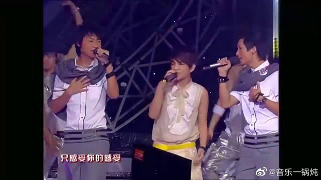 张杰魏晨携手SHE献唱,堪称天籁之音,差距太明显!