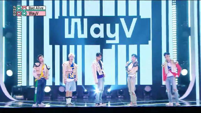 WayV最新单曲Bad Alive打歌舞台 威威这混搭真的有够neo的哈~~~