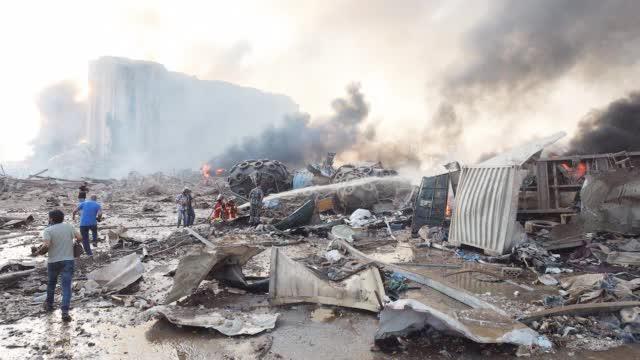 黎巴嫩内政部:黎巴嫩爆炸系高危化学药品引起