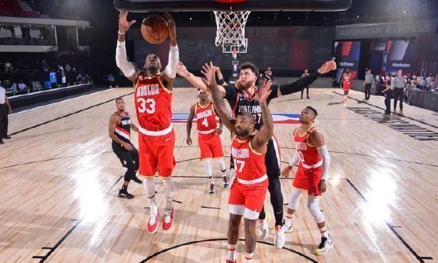 内线又被打爆了!开拓者刷了63个篮板球,火箭双核仅得38分