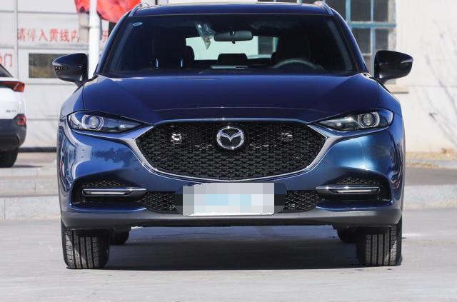 全新马自达CX-4亮相配置提升,预售价公布,可以放弃本田CRV了