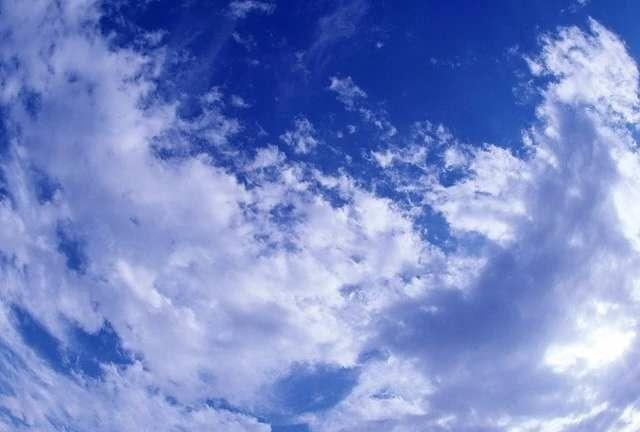 原创散文:八月的天空