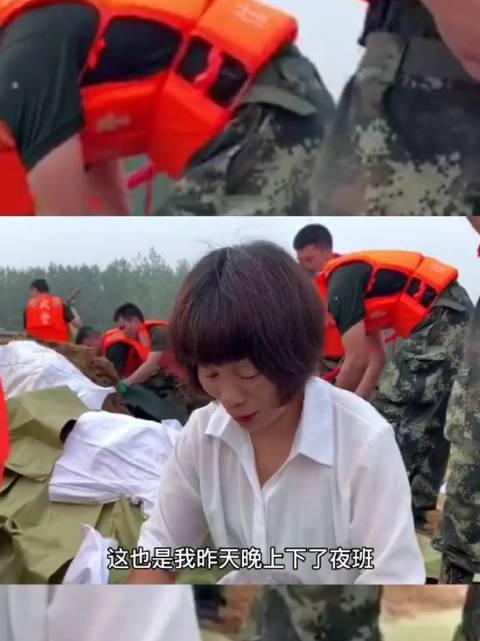 河南信阳防汛一线,这样的军民鱼水情感人至深!