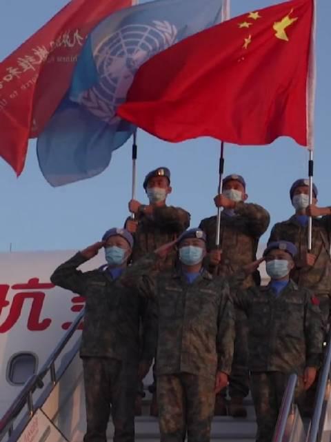 出征!中国第十九批赴黎巴嫩维和部队官兵飞赴任务区!