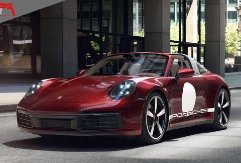 911 Targa2020款经典重现特别版图集欣赏,来自百家号/尚车评