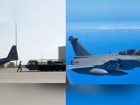 """印度人不愿意了:伊朗发射导弹威慑美军,却""""误伤""""了阵风战斗机"""