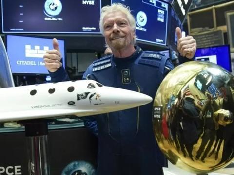 维珍银河2021载客上太空 老板布兰森将先体验
