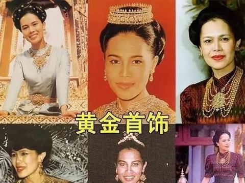 诗琳通罕见戴皇家珠宝!41年前被册封女王储,玛哈国王却一脸不悦