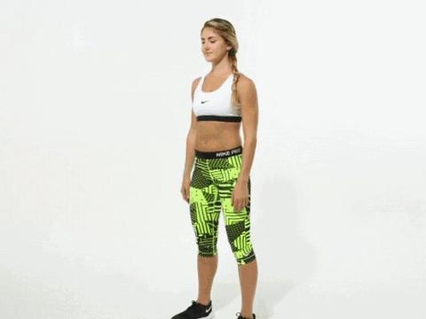 瘦腿美臀必备!实用自重徒手训练体式,在家也能练出完美线条