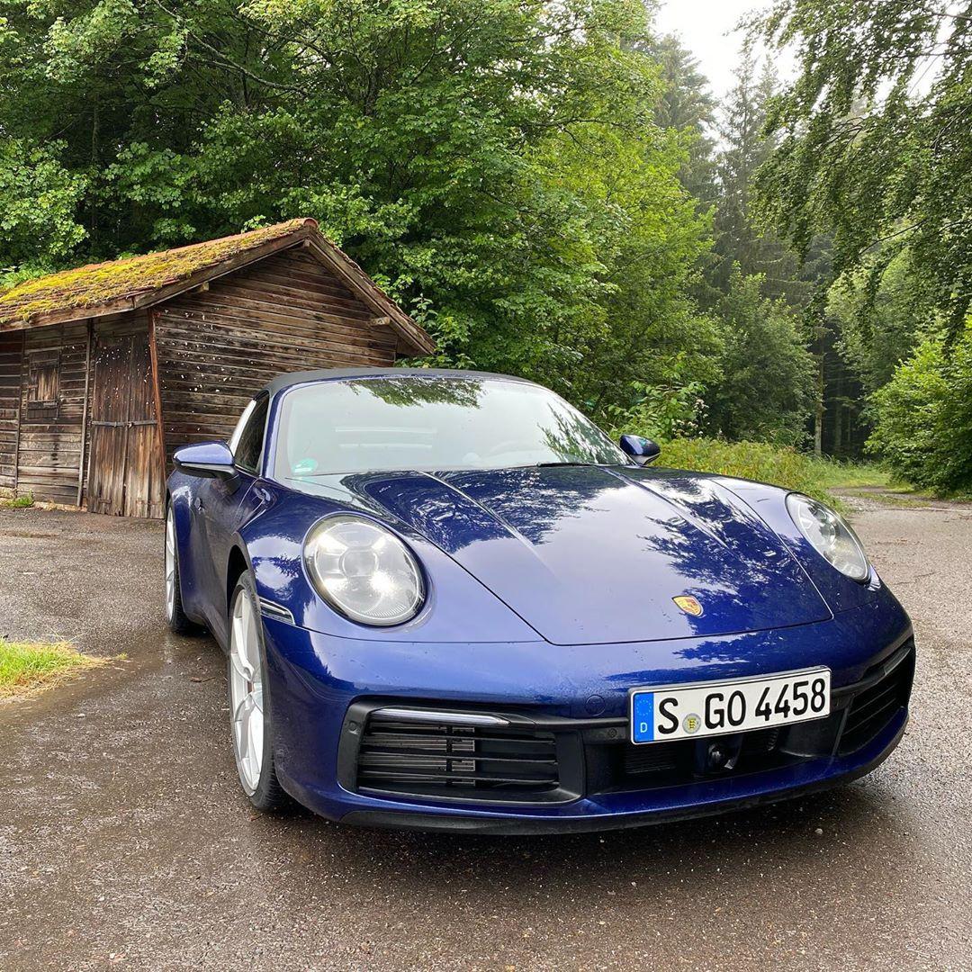全新保时捷911 Targa实车 非常优雅