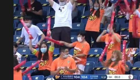 北京球迷抢戏京粤大战,疑似对威姆斯喊侮辱性词汇
