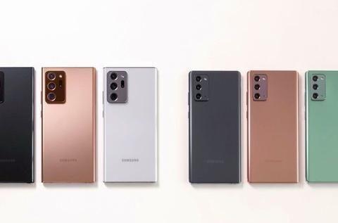三星Galaxy Note20 Ultra真机上手视频+高清美图提前曝光