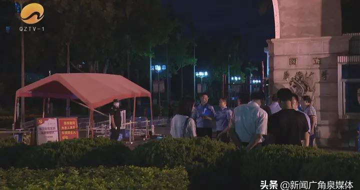 华侨大学泉州校区:肇事车辆冲撞岗亭 三名保安受伤