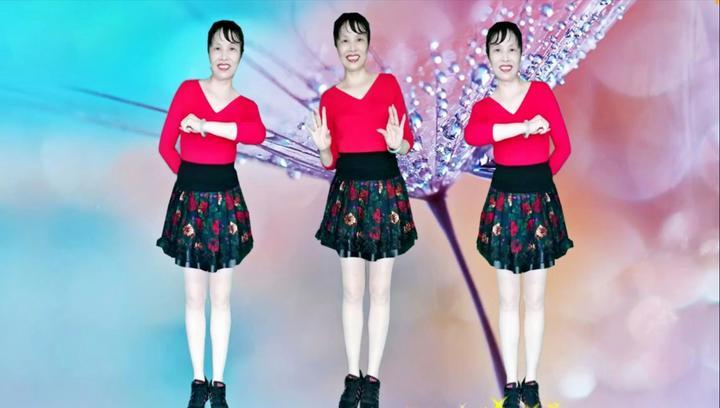 广场舞《问自己》网红时尚流行舞32步,适合中老年健身