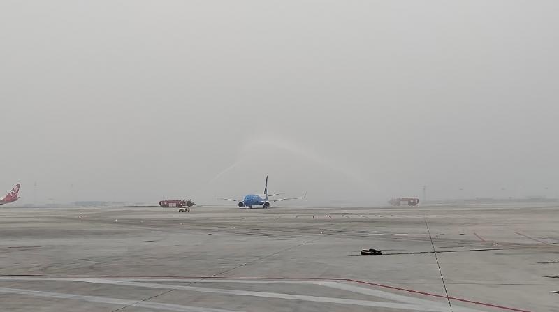 航大兴号来了大兴机场亿兴招商水门迎,亿兴招商图片