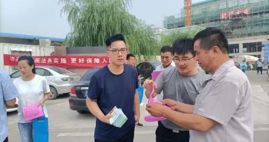菏泽市郓城县杨庄集镇:强化普法宣传 提高法治意识