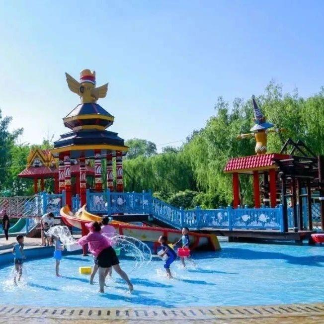 丰台开启戏水模式:流水台阶、水滑梯、打水仗……酷爽夏日嗨不停!