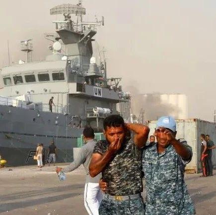黎巴嫩大爆炸,安装中国武器的护卫舰遭创,水兵头破血流