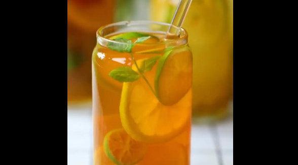 清凉又解暑的自制夏日饮品,低卡好喝不胖,看着就觉得好过瘾……