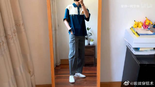 无性别时尚品牌bosie的裤子好显腿长呀……