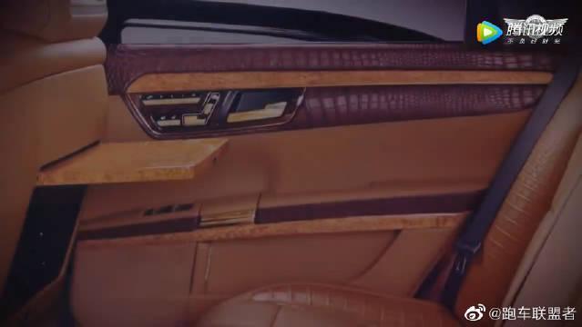 视频:奔驰S-class w221 S600 内饰太豪华了