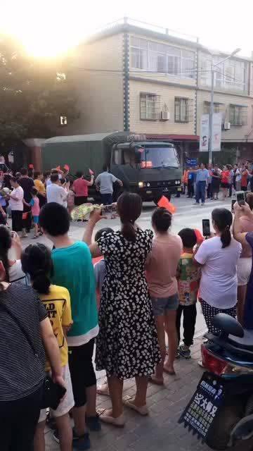 安徽安庆市大观区海口镇的百姓太热情啦……