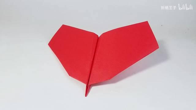 教你折纸烈焰滑翔机,特技飞行纸飞机,儿童很喜欢