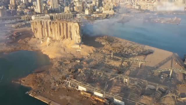 黎巴嫩首都大爆炸死亡人数升至113人 政府软禁港口所有仓库负责人