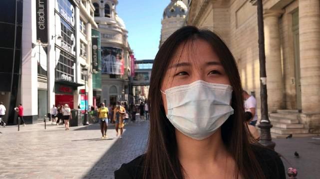 巴黎户外强戴口罩,第二波疫情或将到来?华人:我经历中法疫情……