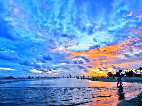 我国4大最美沙滩,北海银滩上榜,最后一个是看日落的最佳选择地