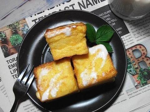 拯救隔夜吐司:做成外酥里嫩的一口西多士,早餐从此不用愁