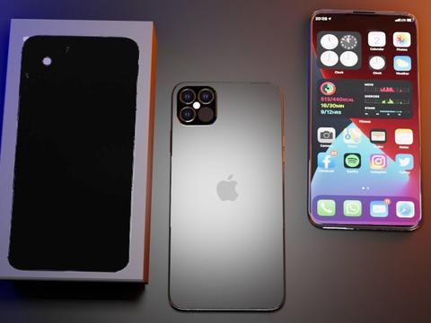 iPhone12Pro概念图:无刘海直面屏