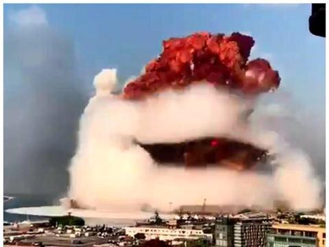 黎巴嫩突发大爆炸,规模接近低当量核弹,以色列紧急声明:不是我