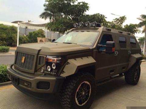 湖南老板转手乔治巴顿轻型防弹车,350万买入,现在半价却难卖出