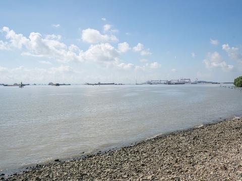 广州南沙靓丽风景线!可以看海的寺庙,广州人都应该来看看