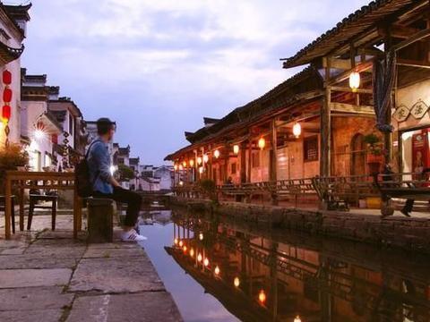 """安徽唐模,历史上的唐朝模范村,被誉为""""中国水口园林第一村"""""""