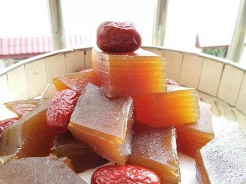高颜值、营养健康的红枣马蹄千层糕,不要太好吃了