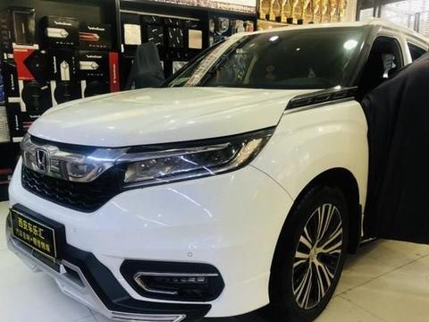 本田冠道汽车音响改装德国艾索特R1.600/阿尔派0850