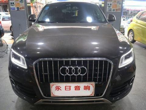 奥迪Q5改装车载音响低音丰润舒适—永日汽车音响