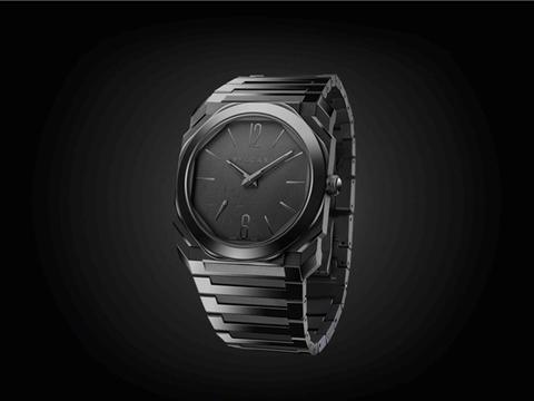 BVLGARI宝格丽Octo Finissimo Automatic黑色喷砂抛光陶瓷腕表