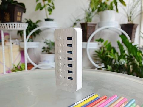 电脑USB接口总是不够用,试试Orico 奥睿科这款HUB分线器