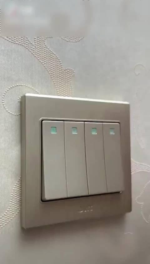给家电开关贴个标语,以后就不怕弄错啦