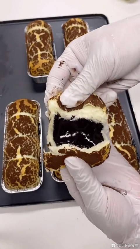 爆浆巧克力面包,巧克力控在哪里