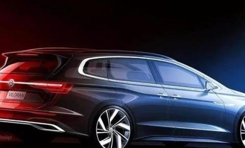 大众新高端MPV在广州国际车展亮相