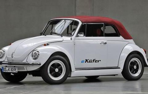 针对e-Gafere-Kubel、 e-Golf Classic e-Beetle经典老车电动化