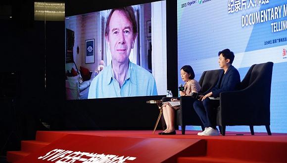 """【上海电视节】迈克尔·伍德:""""中国观众说,我们想象的杜甫就是这样"""""""