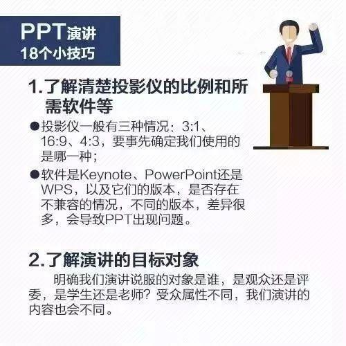 干货!18个超实用PPT演讲技巧