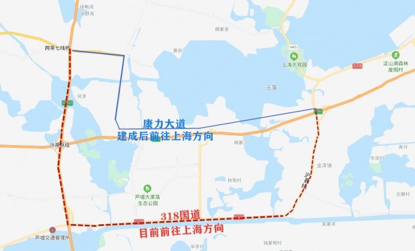 下月通车 吴江到上海 少10公里 长三角一