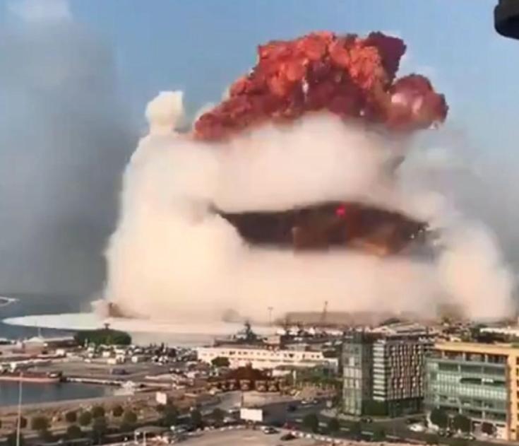 硬核分析:从现场照片估算黎巴嫩事件的爆炸当量